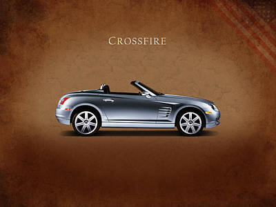 Car Photograph - Chrysler Crossfire by Mark Rogan