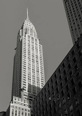 Photograph - Chrysler In Morning Sun by Dave Bowman