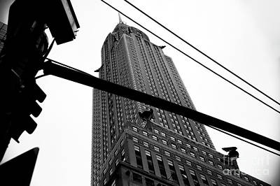 Photograph - Chrysler Looking Up by John Rizzuto