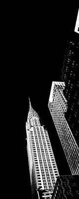 Art Of Building Photograph - Chrysler Nights by Az Jackson