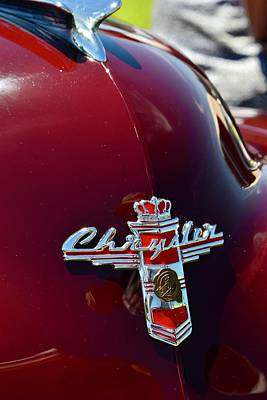 Photograph - Chrysler Ornamentation by Dean Ferreira