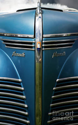 Photograph - Chrysler - Plymouth 2 by Wendy Wilton