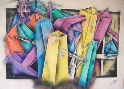 Chrystals Art Print