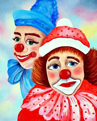 Painting - Chubby And Chuckles.. by Tanya Tanski