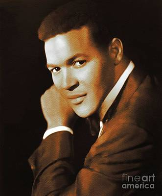 Jazz Royalty-Free and Rights-Managed Images - Chubby Checker, Music Legend by Mary Bassett