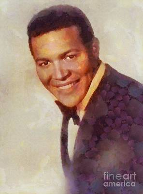 Music Paintings - Chubby Checker, Music Legend by Esoterica Art Agency
