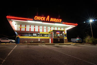 Photograph - Chuck  A Burger by Steve Stuller