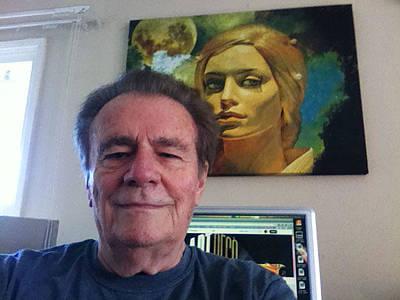 Digital Art - Chuck And Luna by Chuck Staley