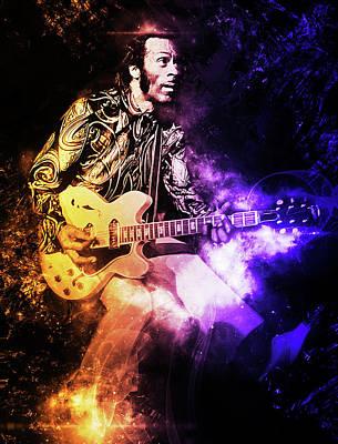 On Trend Breakfast - Chuck Berry - 10 by AM FineArtPrints