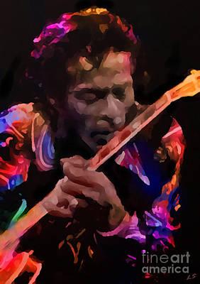 Pyrography - Chuck Berry by Sergey Lukashin