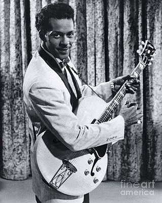 Rock And Roll Royalty-Free and Rights-Managed Images - Chuck Berry by The Titanic Project