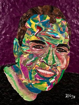 Mixed Media - Chuck  by Deborah Stanley