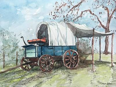 Painting - Chuck Wagon by Gretchen Allen