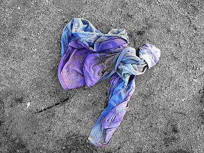 Photograph - Chucked Garment by Stan  Magnan