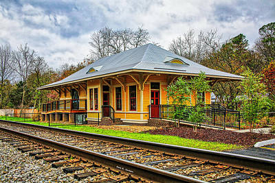 Photograph - Chuckey Depot by Bluemoonistic Images