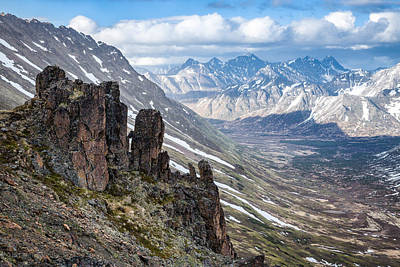 Photograph - Chugach Backcountry In Spring by Tim Newton