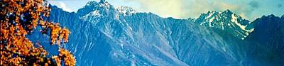 Art Print featuring the photograph Chugach Mountains In Fall by Judyann Matthews