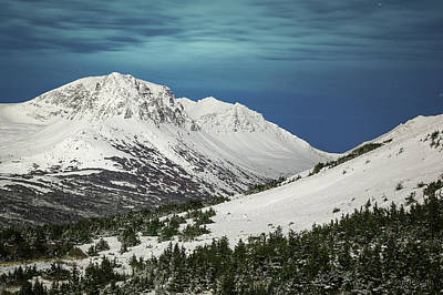 Photograph - Chugach Night by Tim Newton
