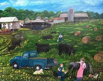 Painting - Chumhurst Farm by Linda Clark