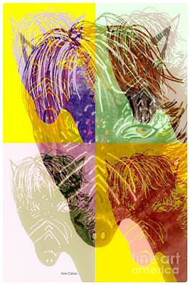 Mixed Media - Chunky by Ann Calvo