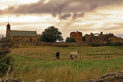 Photograph - Church And Priory by Tony Murtagh