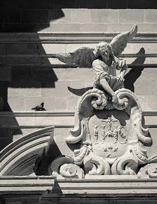 Photograph - Church Angel by Dave Bowman