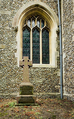 Photograph - Church Arched Window by Jean Noren