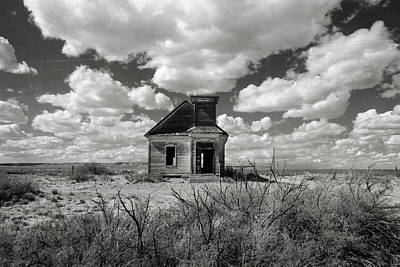 Photograph - Church At Taiban New Mexico by Mary Lee Dereske