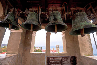 Photograph - Church Bells Of Euphrasian Basilica In Porec by Brch Photography