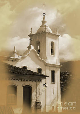 Photograph - Church By The Bay Paraty by Nareeta Martin