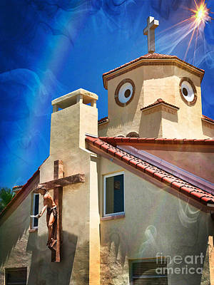 Photograph - Church By The Sea by Larry Mulvehill