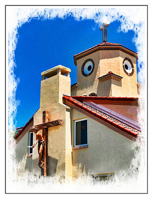 Photograph - Church By The Sea Ver 1 by Larry Mulvehill