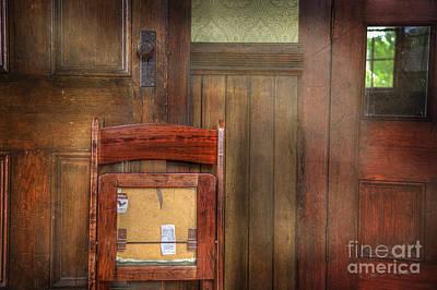 Photograph - Church Chair II by Craig J Satterlee