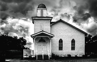 Photograph - Church by Printed Pixels