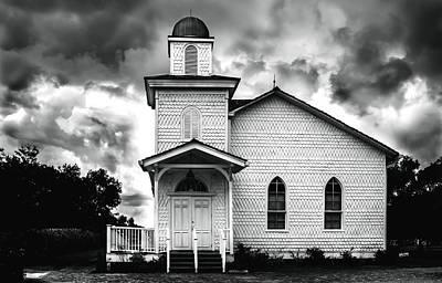 Photograph - Church by Chris Coffee