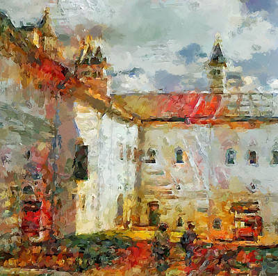 Digital Art - Church Colors 2 by Yury Malkov