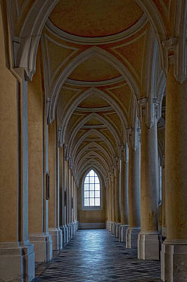 Photograph - Church Corridor - Czechia by Stuart Litoff