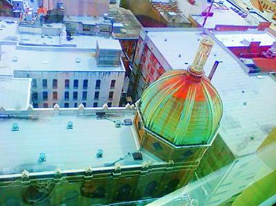 Photograph - Church Dome II by Carol Oufnac Mahan