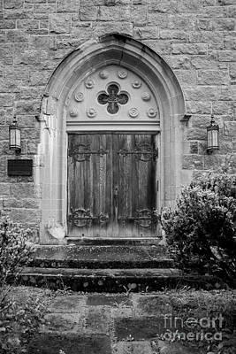 Photograph - Church Door by Alana Ranney