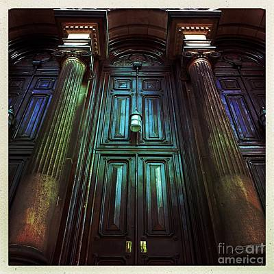 Photograph - Church Door And Pillars by Todd Breitling