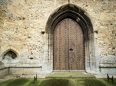 Photograph - Church Door by Jean Noren
