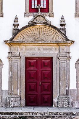 Church Door Art Print by Marco Oliveira