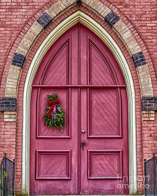 Photograph - Church Door by Phil Spitze