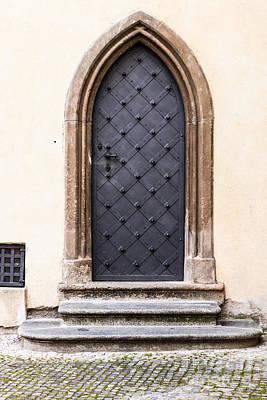 Door Photograph - Church Door Prague by Thomas Marchessault