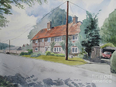 Painting - Church End, Bledlow by Martin Howard