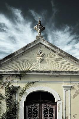 Photograph - Church Entrance by Dave Bowman