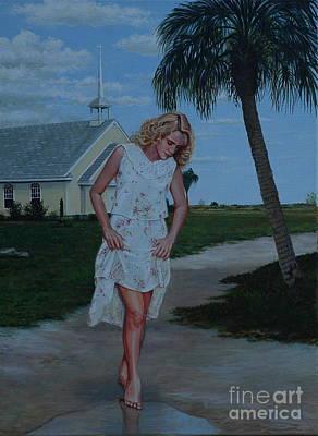 Painting - Church Girl by Michael Nowak