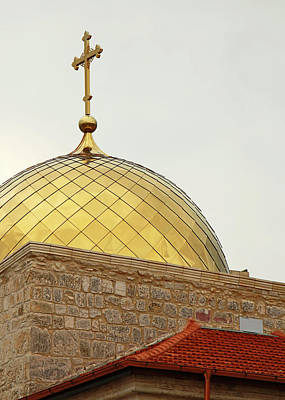 Photograph - Church Golden Dome by Munir Alawi