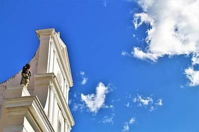 Photograph - Church Gracing the Blue Skies by Andrew Verdi