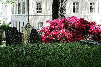 Photograph - Church Graveyard by Sharon Popek